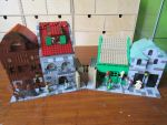 Harry Potter Diagon Alley open front view by kabhes