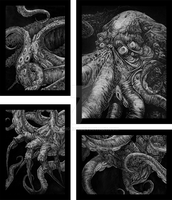 Cthulhu by kerighan