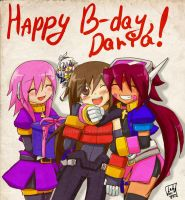 HAPPY B-DAY, DARIA! by Lady2011