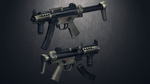 [MMD] HK MP5K for DL by AbyssLeo