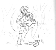 In the forest by the-Rose-of-Blue
