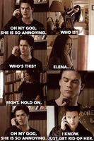 TVD+Mean Girls: 3 Way Calling by SmartyPie