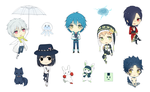 DMMd Sticker Sheet by deliciosaBerry