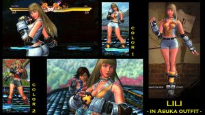 SFxT Mod: Lili - in Asuka Outfit by moedjoer