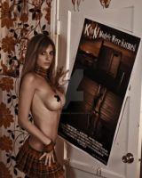 Lilly with poster by LillyLeeModel