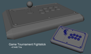 Tournament Fightstick by Espiownage