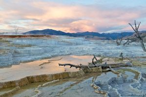 Mammoth Hot Springs by thankyoujames