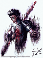 Tainted Honor - Fate/Zero Lancer by ManNamedGeorge