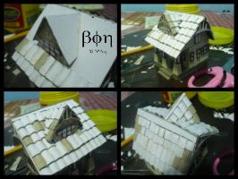 Miniature House (Unfinished) by Bon09