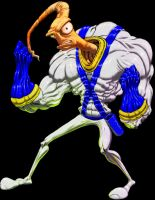 EARTHWORM JIM COLORS by RAVELO