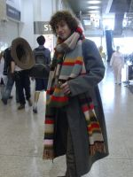 4th Doctor Cosplayer by lunamaxwell