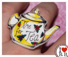 Teapot ring by prettyboyswearpink