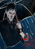 Oswald Chesterfield Cobblepot by KatZeArtist