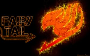 Fairy Tail Logo Wallie by Unrealistic-Reality