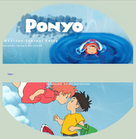 Ponyo Journal by Kittur-puff