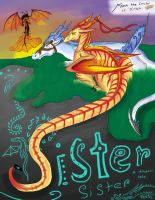 Sister Sister-a Dragon's Tale by CrystalCircle