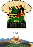 JazzReggae Fest T-Shirt Design (Original Colors) by BlackBatman