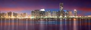 Abu Dhabi Panoramic View by ashamandour