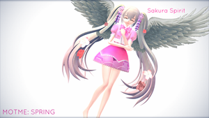 MOTM: Sakura Spirit (Spring) by HappyNegativeGuje