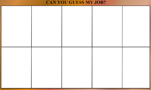 Guess My Job meme by FalseDisposition