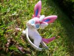 Strike A Pose, Sylveon! by Fishlover