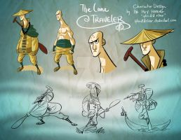 The Lone Traveler Design Sheet by splendidriver
