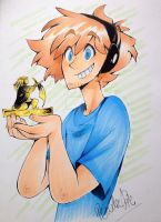 Pewdiepie and Stephano by InkGirl-san