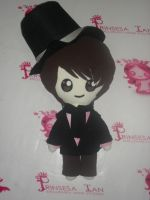 SUPER JUNIOR M ZHOUMI PERFECTION CHIBI DOLL by prinsesaian