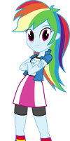 Rainbow Dash - Equestria Girls by Starbolt-81
