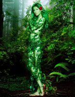 The girl in nature by beheritdragoness