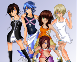 KH Girls::. by xxmoonangelxx