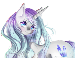MLP OC | Icy Crystal by xKittyblue