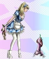 Alice in Wonderland by Kuro-neko-chan