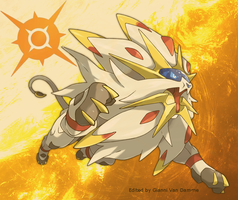 Solgaleo (pokemon Sun) by savarinB