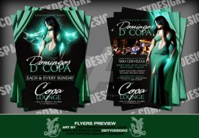 domingos d copa flyer by DeityDesignz