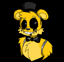 Golden Freddy by allthecutethings