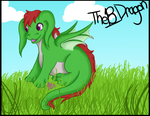The18Dragon Contest: Baby Dragon by ErinSoup
