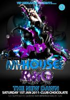 myhouse flyer by BLACC360