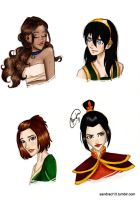 ATLA girls by Sandra-13