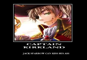 Captain Kirkland Hetalia Motivational Poster by MadamNight