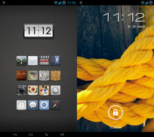 Simple Galaxy Nexus by Helmer1337