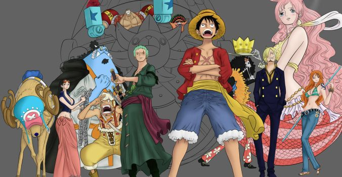 One Piece - 2YL - Storming the Plaza WIP (Update) by LilPrincess95