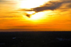 Sun over Boise by pumatooth