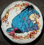 Eeyore Cake by pirateking42