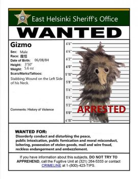Wanted Poster Gizmo by TheLobes