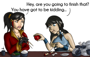 Lunch by MissMinority