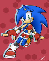 CE: Sonii the Hedgehog by NicoleDoodle64