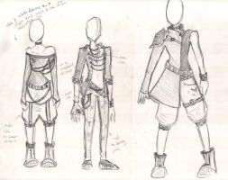 Punk Designs for Harvi by Xedramon