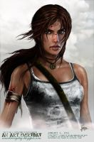 TOMBRAIDER LARA CROFT Final by pbozproduction