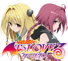 To LOVE Ru Darkness v2 - Anime Icon by Rizmannf